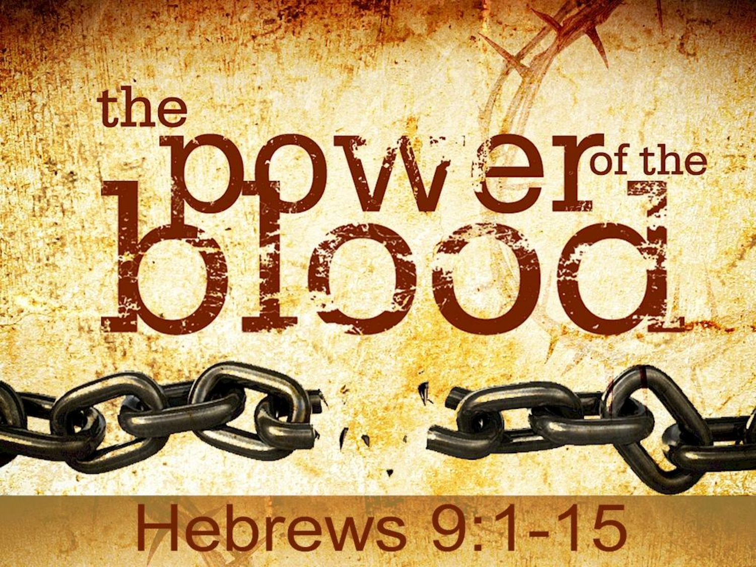 """the saving power of blood The blood of jesus has the power to release the grip of the great curse, the  """" much more then, having now been justified by his blood, we shall be saved from ."""